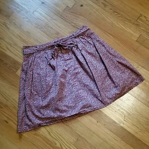 Gap Floral Mini Skirt
